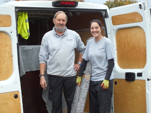 Andy and Leanne directors of Beacon Park Removals